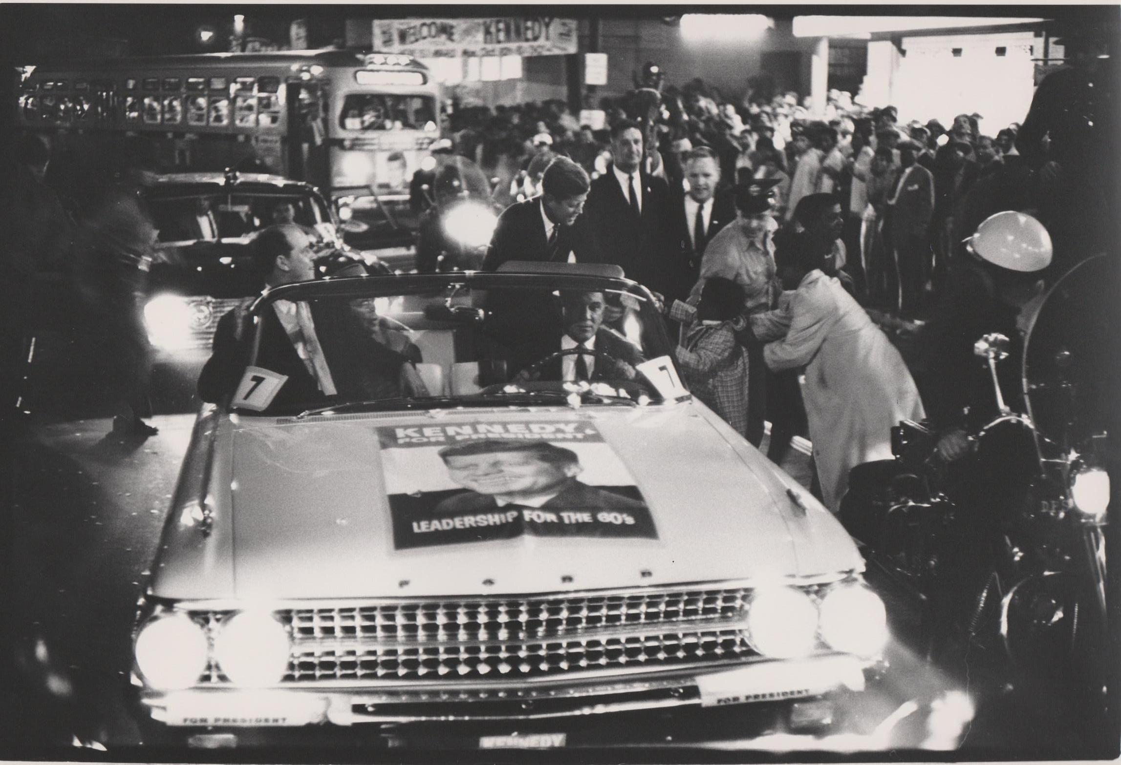 John F. Kennedy Election campaign 1960