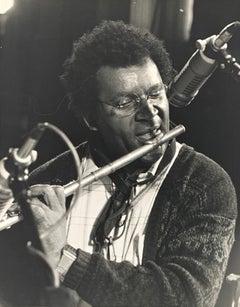 Portrait photo of Anthony Braxton by Rolf Hans, Jazz Festival Willisau Swiss