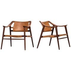Rolf Rastad & Adolf Relling Bambi Easy Chairs by Gustav Bahus in Norway