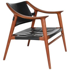 Rolf Rastad and Adolf Relling Bambi Lounge Chair Gustav Bahus, Norway, 1954