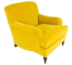 Roll Arm Club Chair with Deep Seat 'Customizable'