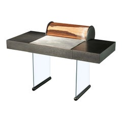 Roll Black Desk