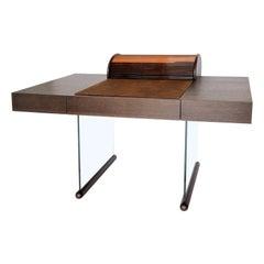 Roll Brown Desk