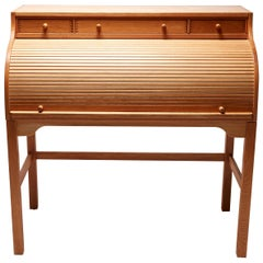 Roll Top Secretary Desk by Andreas Hansen Hadsten