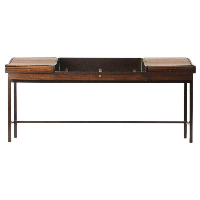 Roll Top Writing Desk by Edward Wormley For Sale