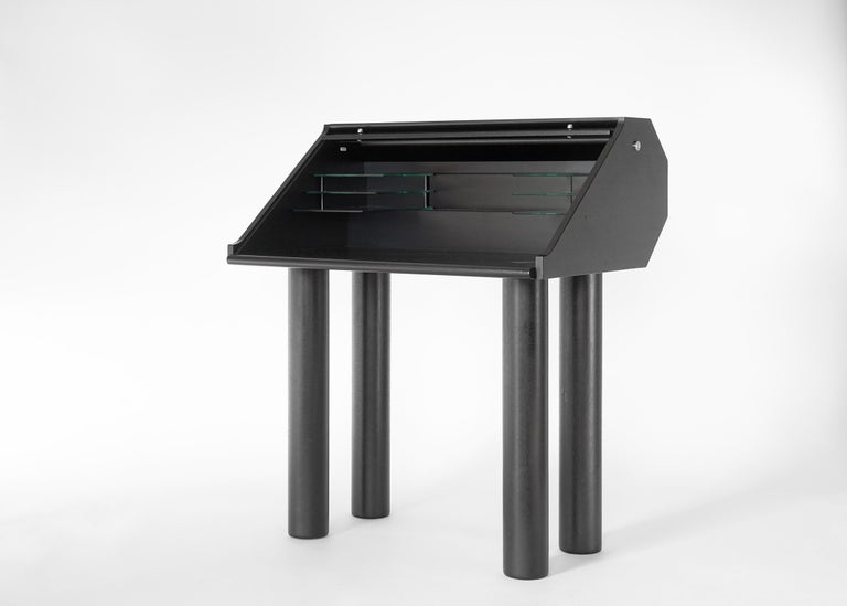 Swiss Post-Modern Desk by Hans Eichenberger For Sale