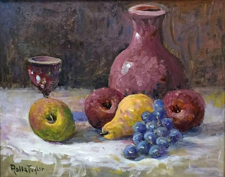 """Rolla Taylor Still-Life Painting - """"Still Life"""""""