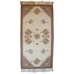 Röllakan Rug, Swedish Design. 1960s-1970s, Wool Carpet