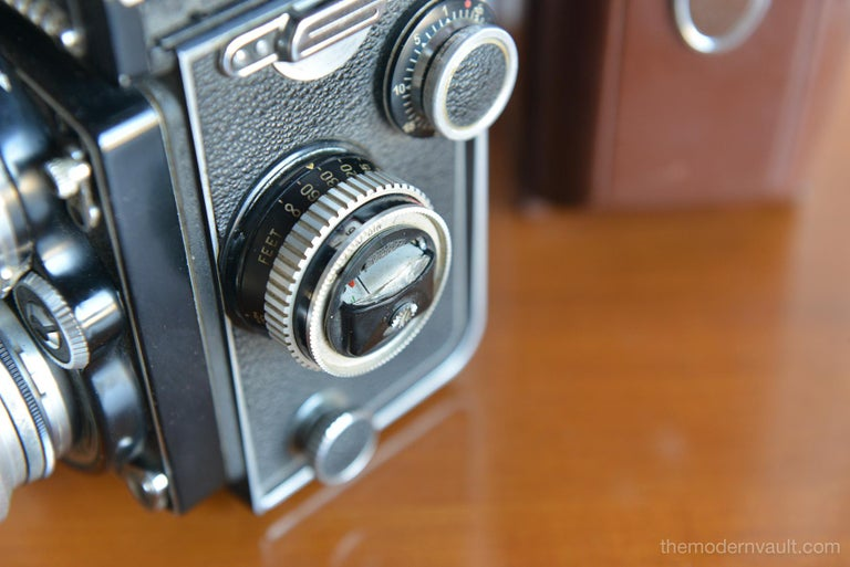Rolleiflex 2.8E TLR Camera with Case and Accessories, circa 1958 For Sale 3