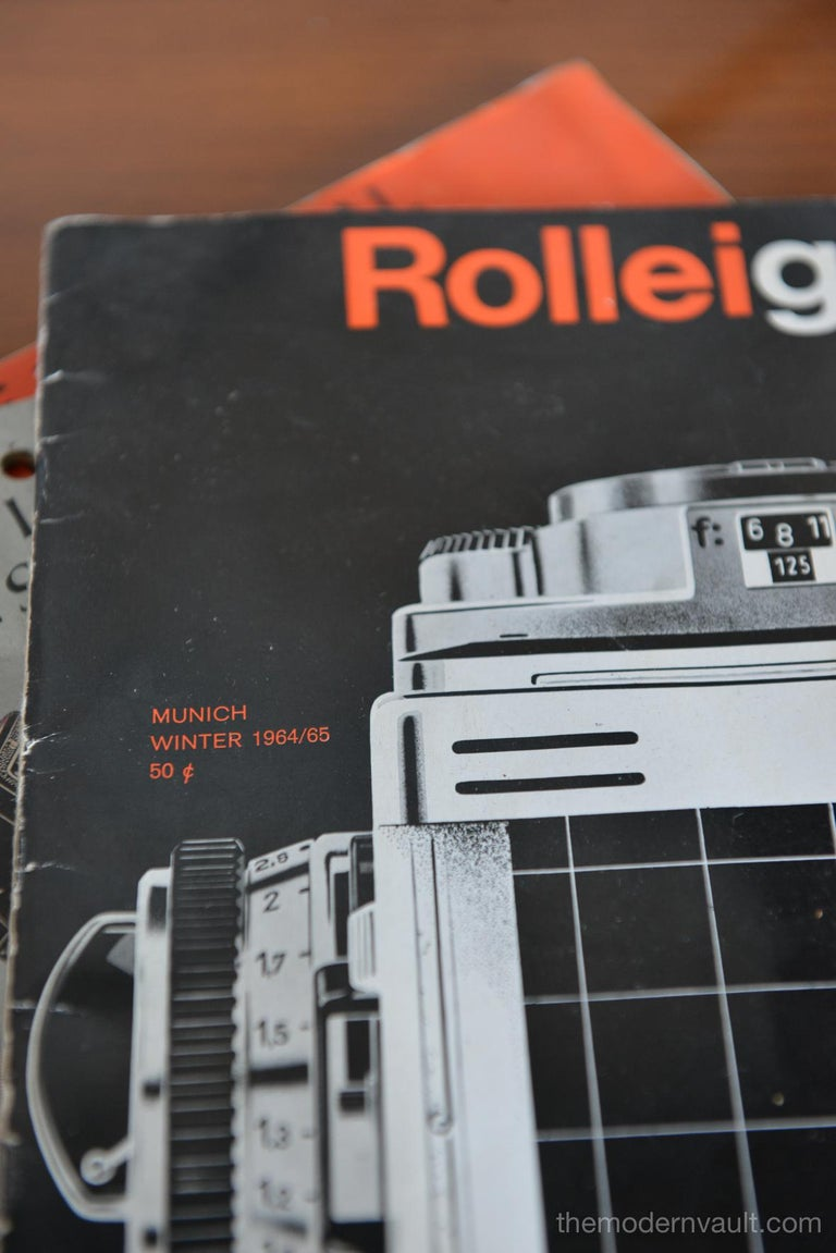 Rolleiflex 2.8E TLR Camera with Case and Accessories, circa 1958 For Sale 11
