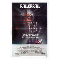 Rollerball 1975 U.S. One Sheet Film Poster