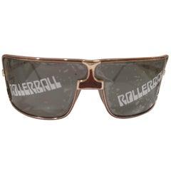 Rollerball mask sunglasses NWOT