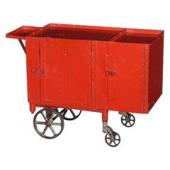 Rolling Bar Cart