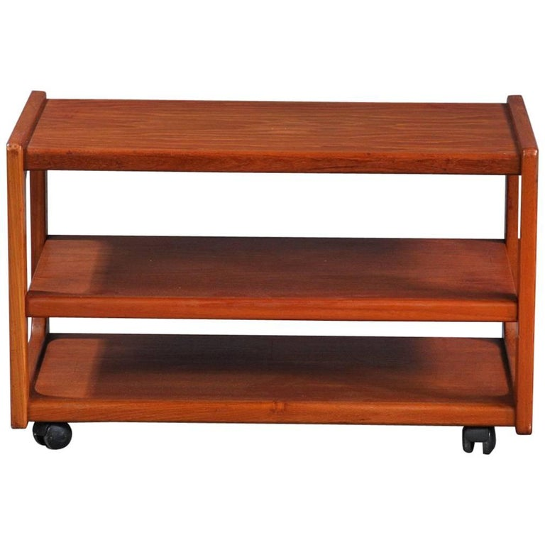 rolling coffee table for sale at 1stdibs. Black Bedroom Furniture Sets. Home Design Ideas