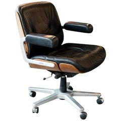 Rolling Office/Desk Chairs by Stoll for Giroflex, Switzerland, 1960s
