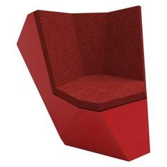 Rolling Stone, Modular Seat, Red