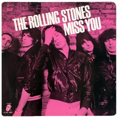 Rolling Stones Record Art 'Mick Jagger, Keith Richards'