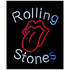 Rolling Stones Wall Light Neon