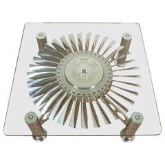 "Rolls Royce ""Conway"" Turbine Table"
