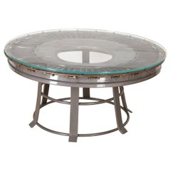Rolls Royce Table with Glass Top