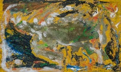 Rolph Scarlett, Yellow Abstract, Non-Objective Painting