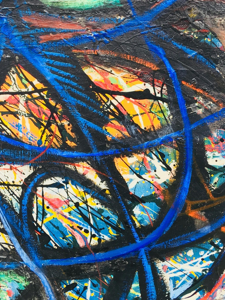 Untitled - Abstract Expressionist Painting by Rolph Scarlett