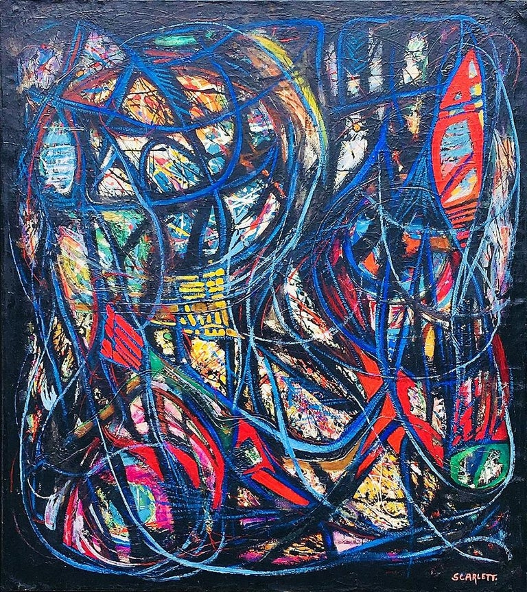 Rolph Scarlett Abstract Painting - Untitled