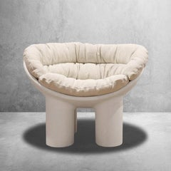 Roly Poly Polyethylene Armchair with Cushions, 1stdibs Gallery Showroom Sample