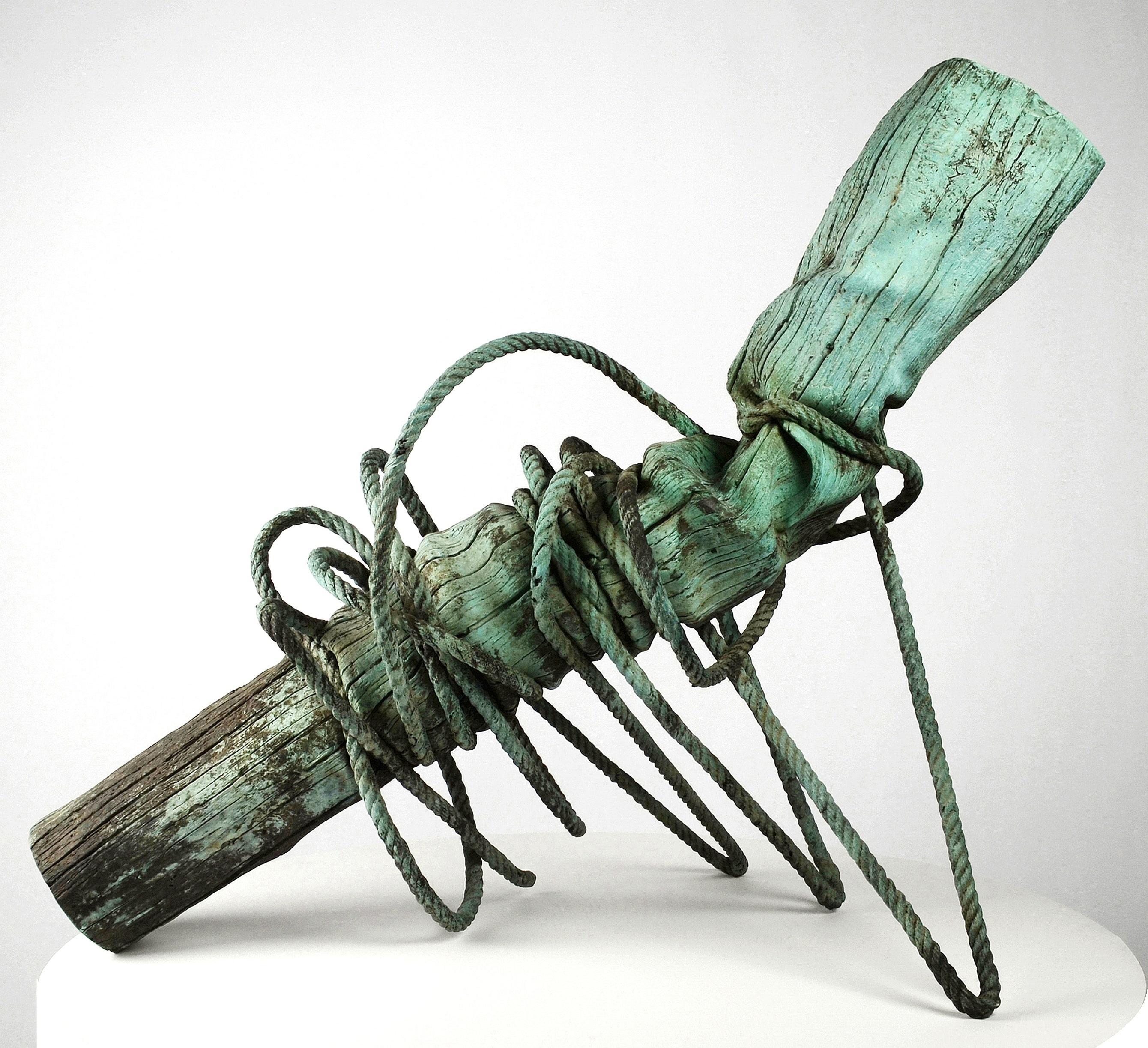 The Anthropocene - Trompe-l'œil Bronze Sculpture