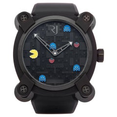 Romaine Jerome Pac Man Level 2 Ti RJ.M.AU.009.05 Men's Titanium Watch