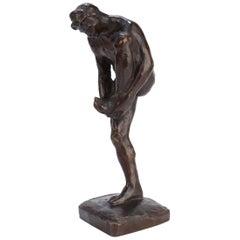 Roman Bronze Works Sculpture of an Athlete by Robert Tait McKenzie