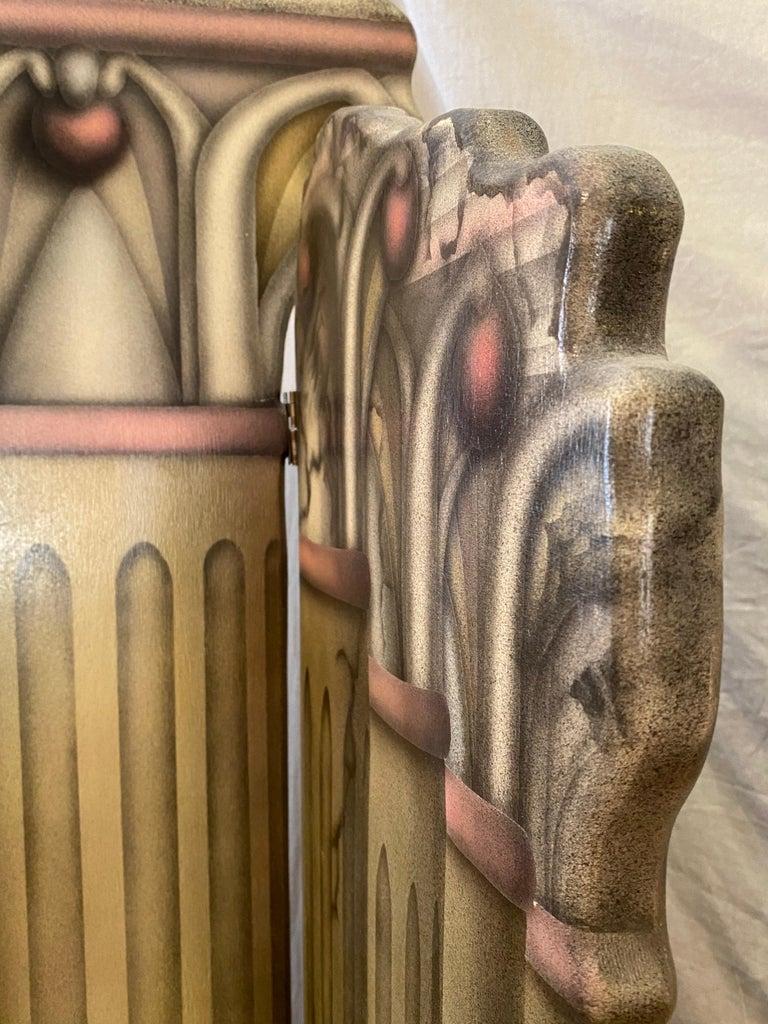Roman Columns 6-Panel Screen For Sale 1