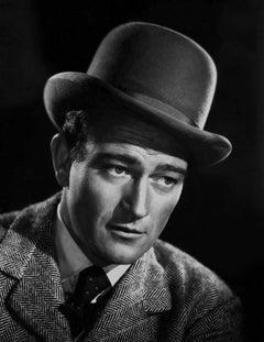 John Wayne in Hat Fine Art Print