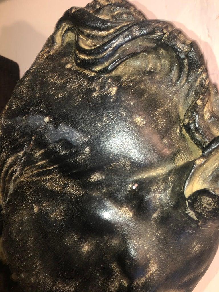 Contemporary Roman Horse-head Resin For Sale