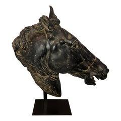 Roman Horse-head Resin