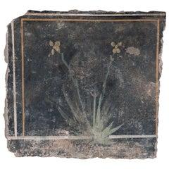 Roman Imperial Era Fragment 'Fresco', 1st Century BC, Provenance