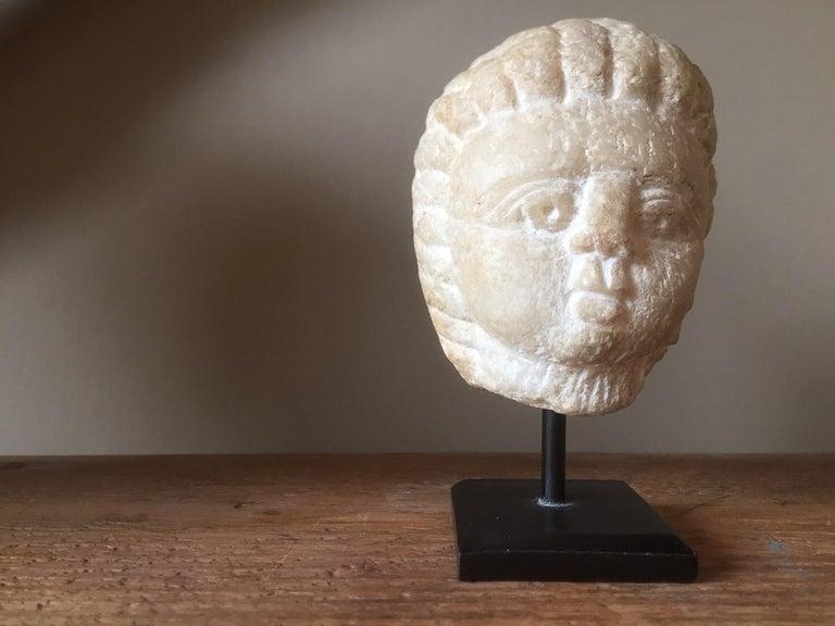 Classical Roman Roman Janus Head, circa 3rd Century AD For Sale