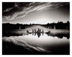 Chariot of Apollo Study #1, Versailles France Silver Gelatin 11x14 Framed