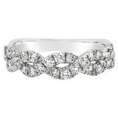 Roman Malakov Round Diamond Halo Infinity Wedding Ring