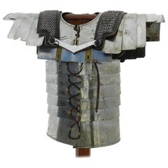 Roman Style Armour Amor Chainmail on Stand, 20th Century Decorative