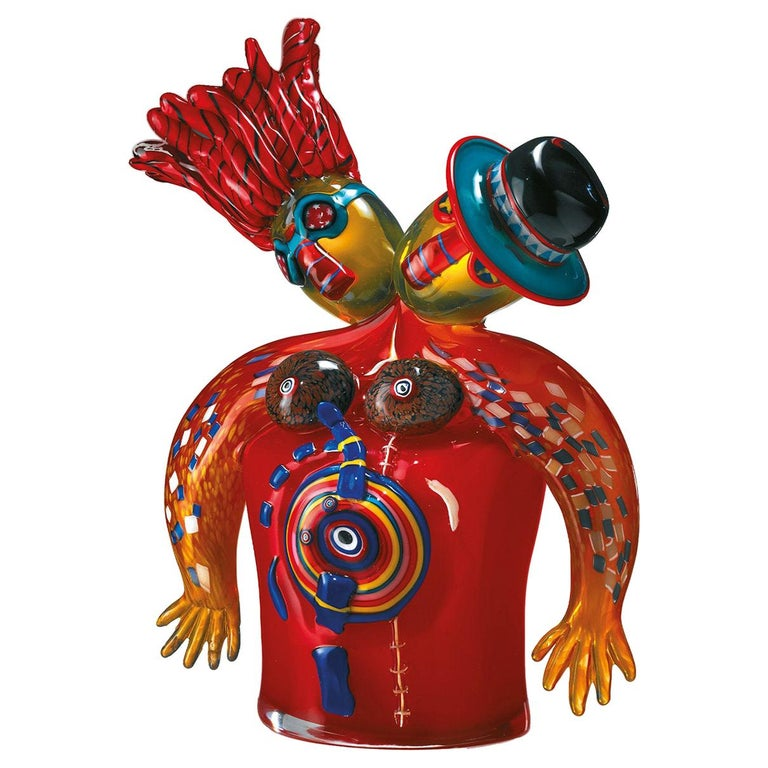 Romance Sculpture by Alfredo Sosabravo Limited Edition For Sale