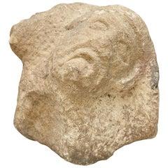 Romanic 13th Century Stone Sculpture
