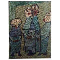 Romanos Glass tesserae Figural Mosaic