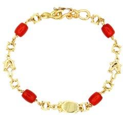 Romantic Coral Bracelet