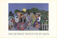 1997 After Romare Bearden 'Quilting Time' Multicolor USA Offset Lithograph
