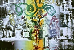 Introduction for a Blues Queen, Limited Edition Lithograph, Romare Bearden