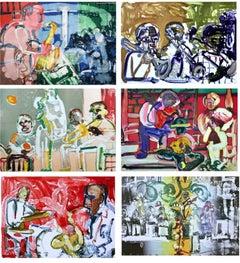 Jazz Series (6 artworks)