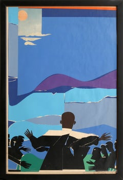 Martin Luther King Jr., Mountain Top, by Romare Bearden 1968