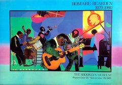Romare Bearden JAMMING AT THE SAVOY The Brooklyn Museum 1981 Exhibition Poster