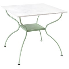 Rombo Outdoor Green Wrought Iron Dining Table